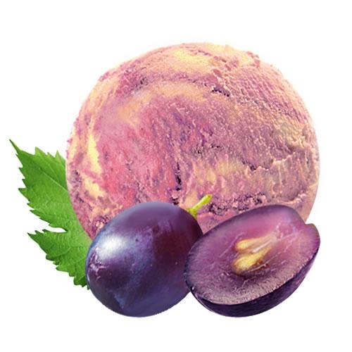 Виноград с маскарпоне